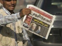 Trump İslami Reform Yanlısı Sisi'nin Arkasında