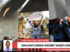 İran Kentlerinde Hükümet Karşıtı Gösteriler