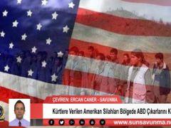 Kürtlere Verilen Amerikan Silahları Bölgede ABD Çıkarlarını Koruyor