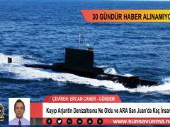 Kayıp Arjantin Denizaltısına Ne Oldu ve ARA San Juan'da Kaç İnsan vardı?