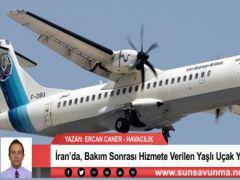 İran'da, Bakım Sonrası Hizmete Verilen Yaşlı Uçak Yere Çakıldı