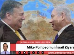 Mike Pompeo'nun İsrail Ziyareti