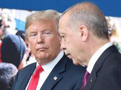 Trump Suriye'den Çekildikten Sonra Kürtlere Saldırmaması Konusunda Erdoğan'ı Yine Uyardı