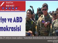 Suriye ve ABD Demokrasisi