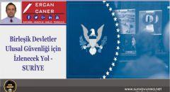 Birleşik Devletler Ulusal Güvenliği için İzlenecek Yol- SURİYE
