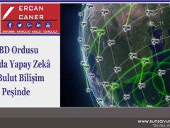 ABD Ordusu Uzayda Yapay Zekâ ve Bulut Bilişim Peşinde