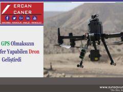 İsrail GPS Olmaksızın Seyrüsefer Yapabilen Dron Geliştirdi