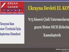 Ukrayna'dan Dev Motor Üreticisi İçin Kamulaştırma Hamlesi