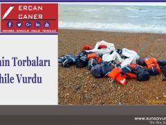 Kokain Torbaları Sahile Vurdu