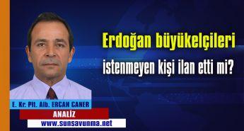 Erdoğan büyükelçileri istenmeyen kişi ilan etti mi?